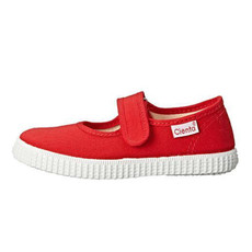 CIENTA SHOES RED SOLID MARY JANE