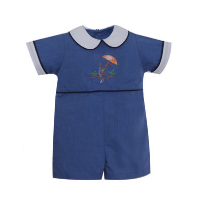 LULLABY SET STEWART DROPWAIST SHORTALL- FALL BREEZE
