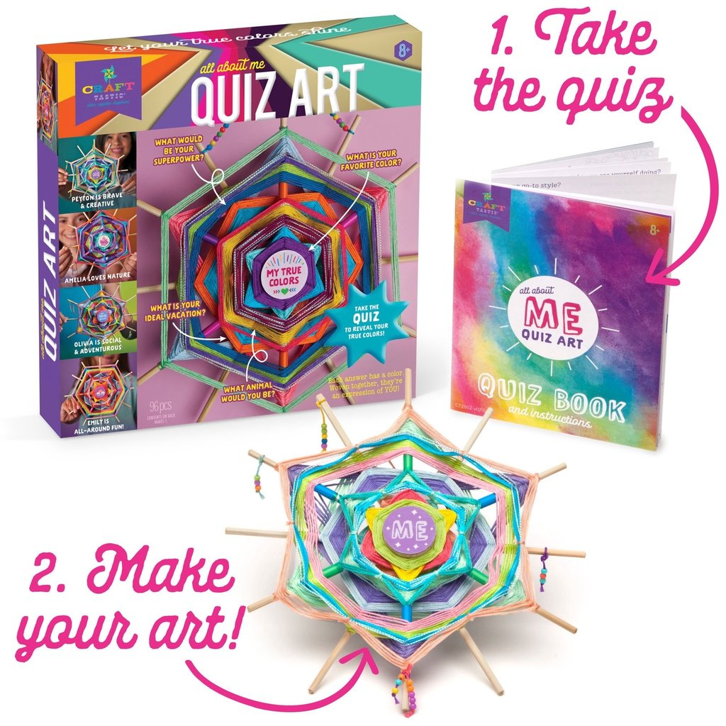 ANN WILLIAMS GROUP ALL ABOUT ME QUIZ ART