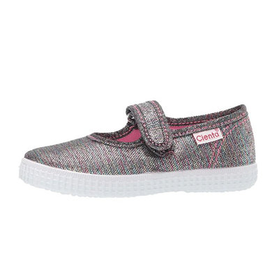 CIENTA SHOES RAINBOW SPARKLE MARY JANE