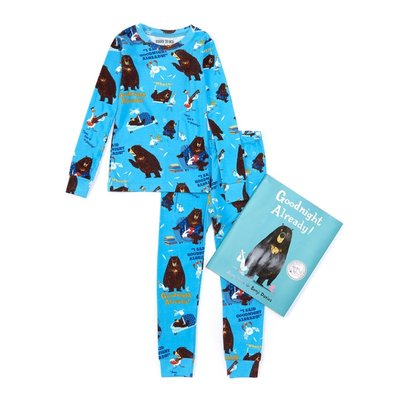 BOOKS 2 BED GOOD NIGHT ALREADY LS PAJAMA SET WITH BOOK
