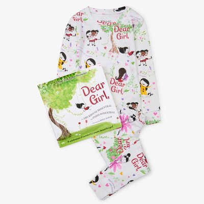 BOOKS 2 BED DEAR GIRL LS PAJAMA SET WITH BOOK