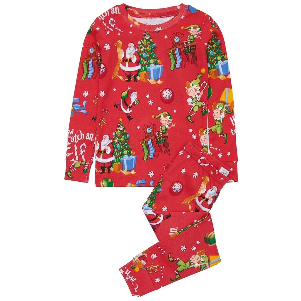 BOOKS 2 BED HOW TO CATCH AN ELF LS PAJAMAS