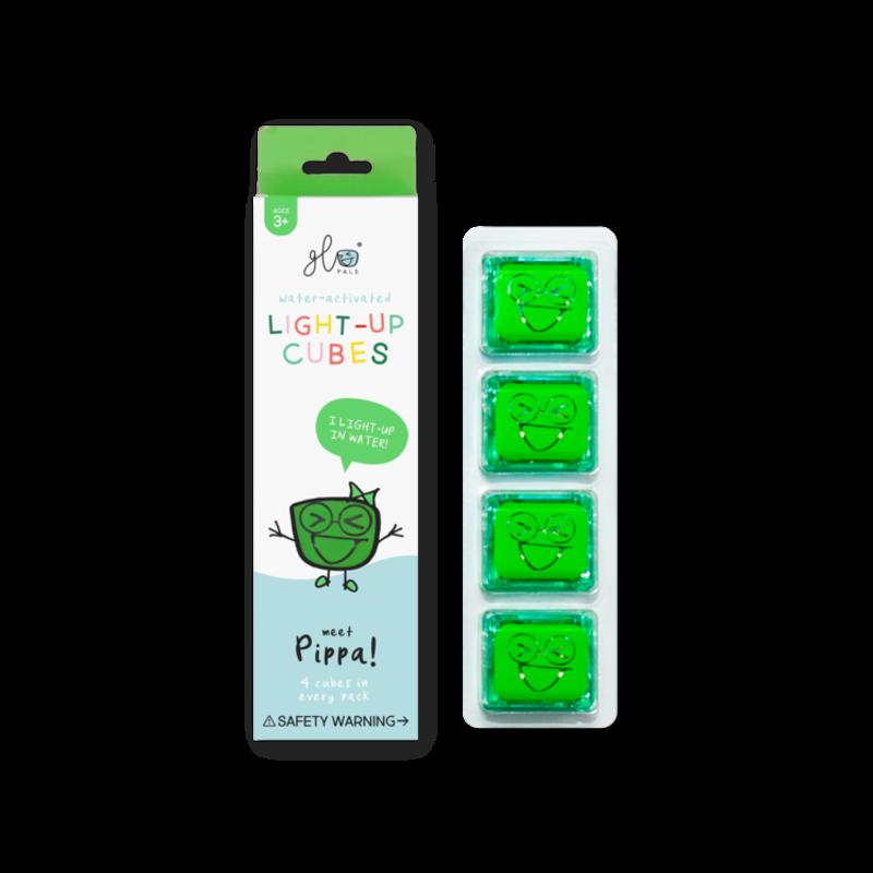 GLO GLO PALS 4PK - PIPPA (GREEN)