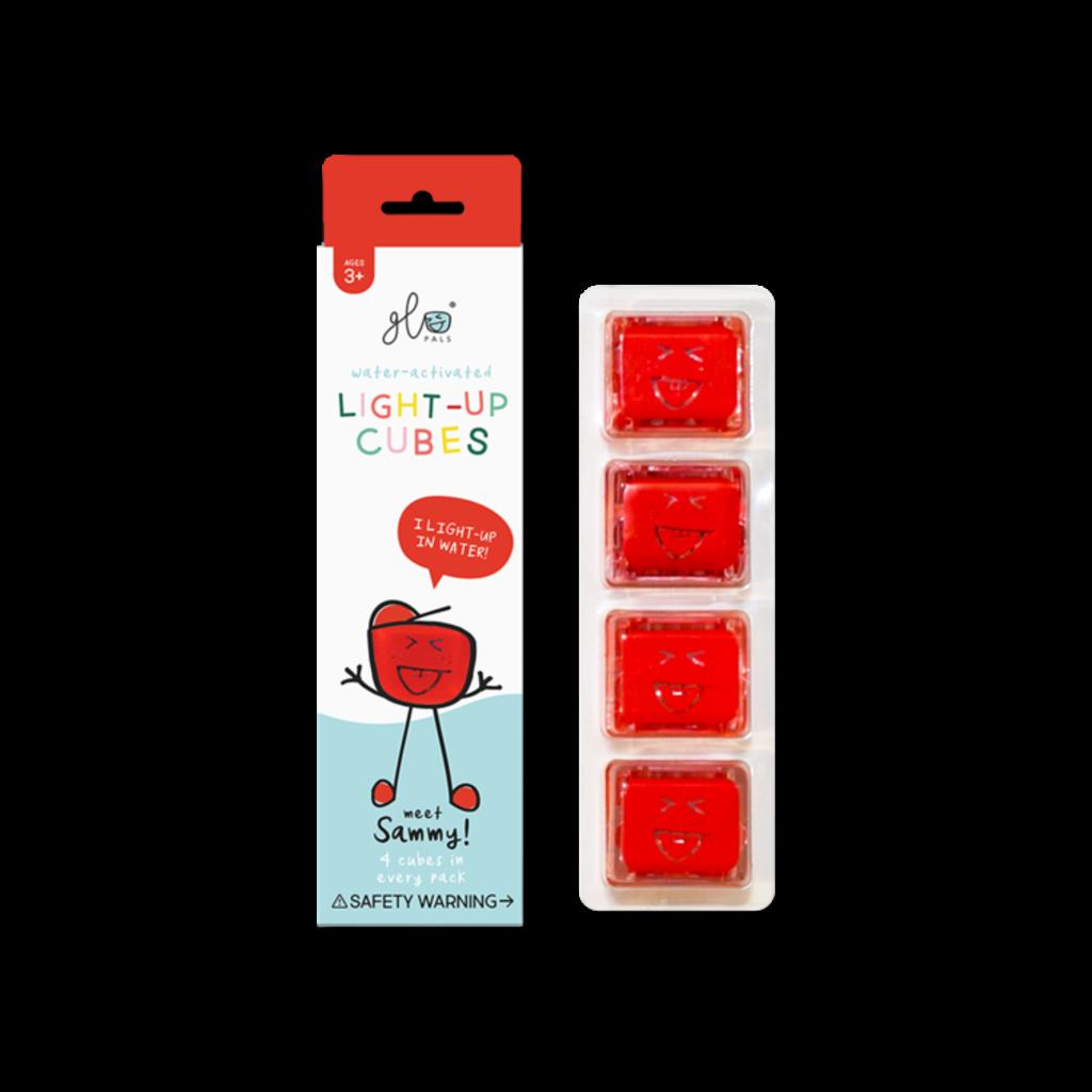 GLO GLO PALS 4PK - SAMMY (RED)