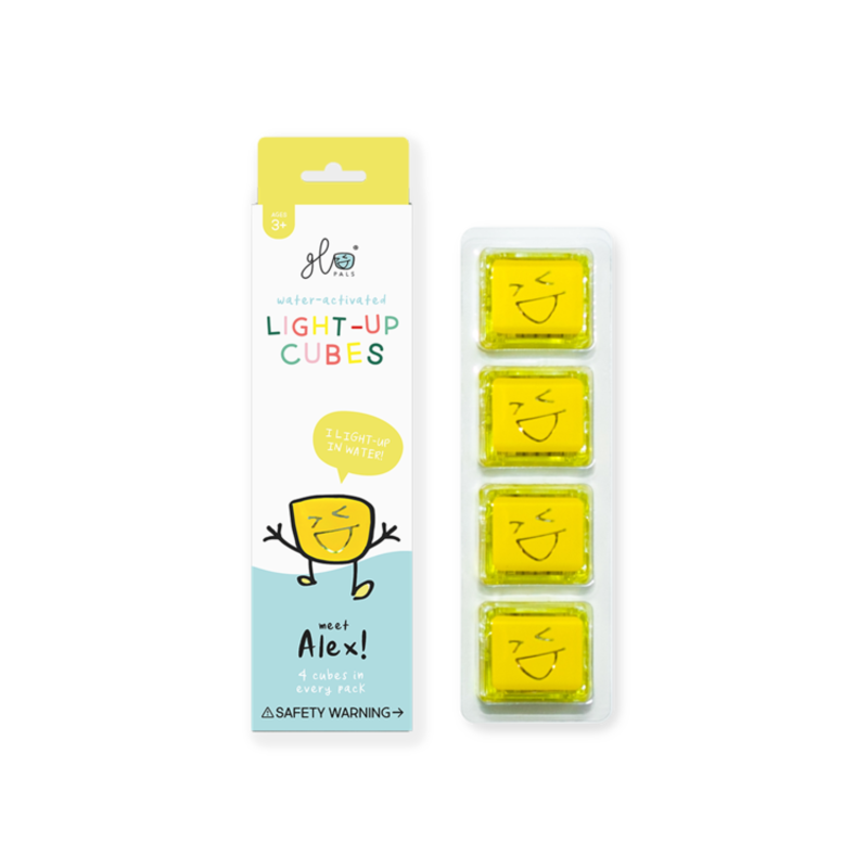 GLO GLO PALS 4PK - ALEX (YELLOW)