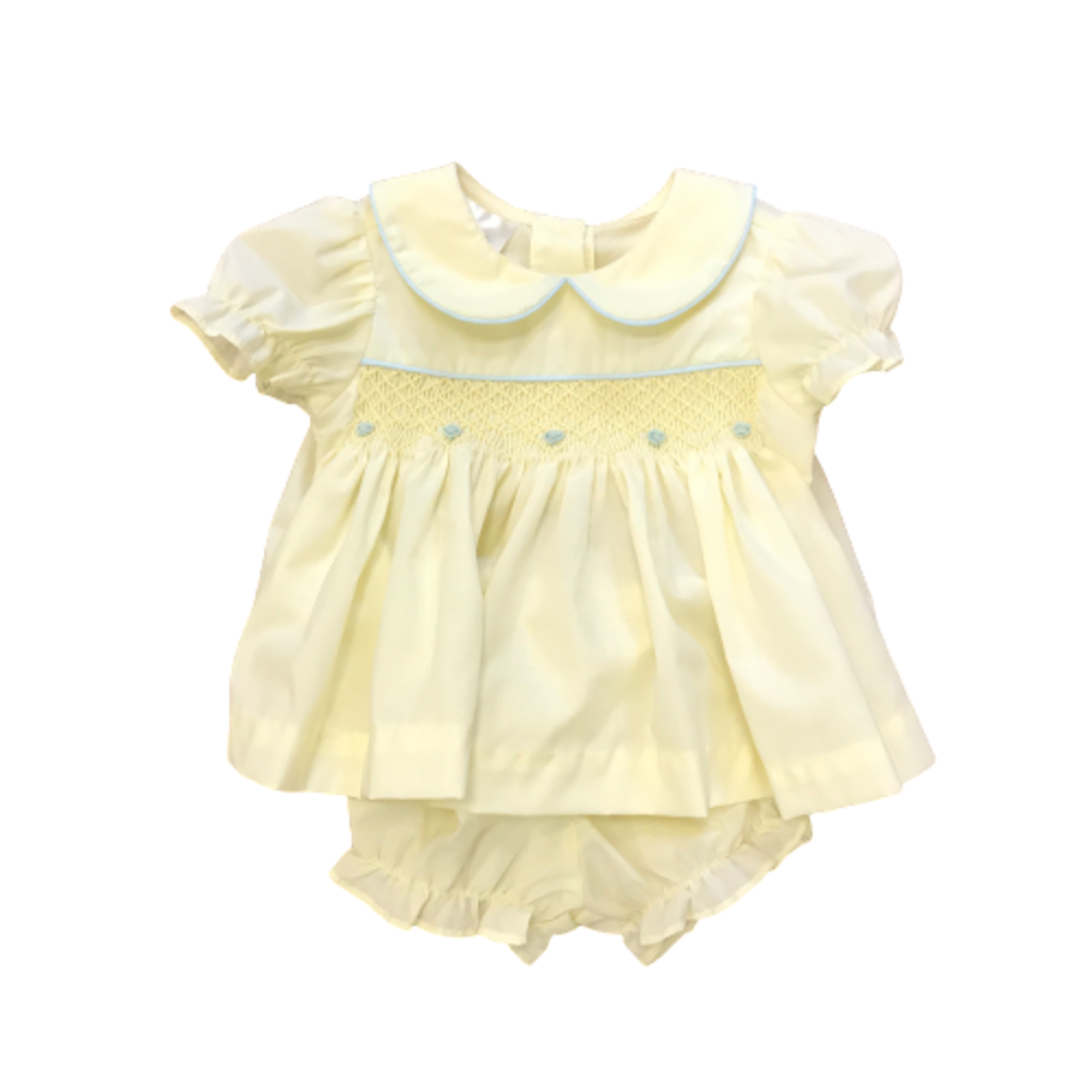 BABY BLESSINGS ISABELLA YELLOW SET