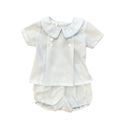 BABY BLESSINGS WILLIAM BLUE DIAPER COVER