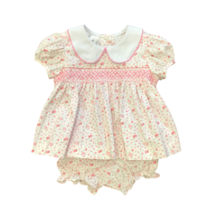 BABY BLESSINGS ISABELLA PINK BLOSSOM SET