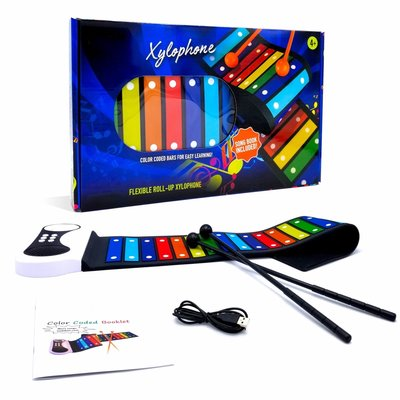 MUKIKIM FLEXIBLE ROLL-UP XYLOPHONE