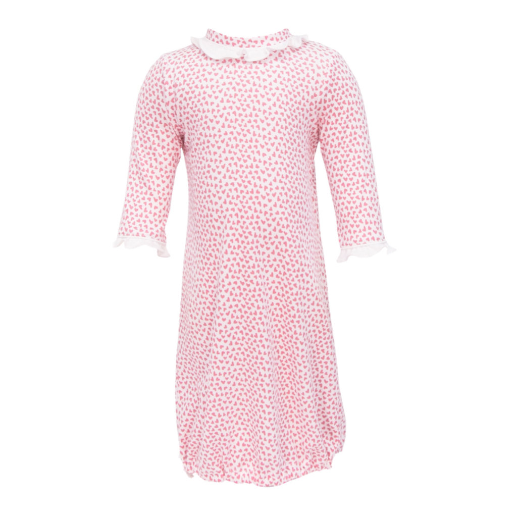 LILA AND HAYES GEORGIA GIRLS DAYGOWN- HEARTS AFLOAT