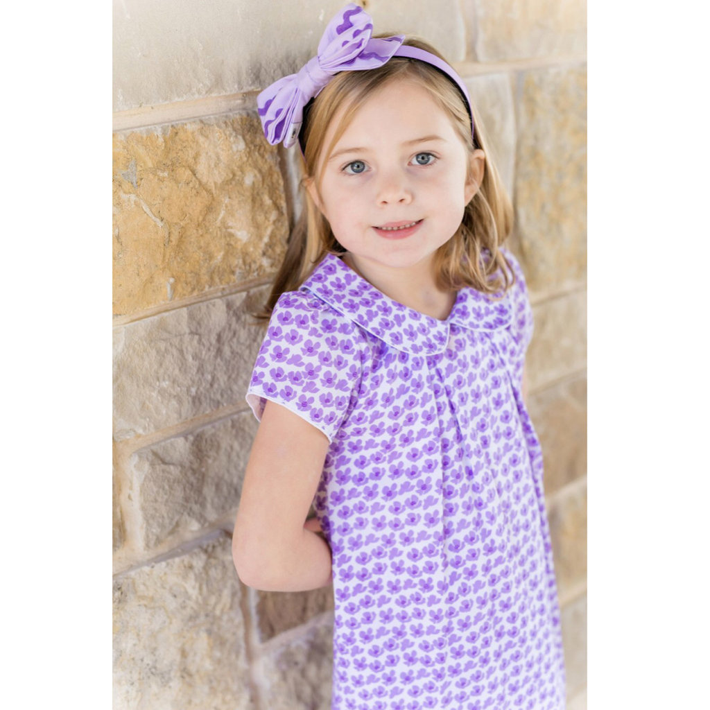LILA AND HAYES KATE SS WOVEN DRESS- FALLING FLOWERS