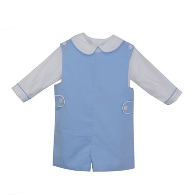 REMEMBER NGUYEN BLUE BALLET SHORTALL