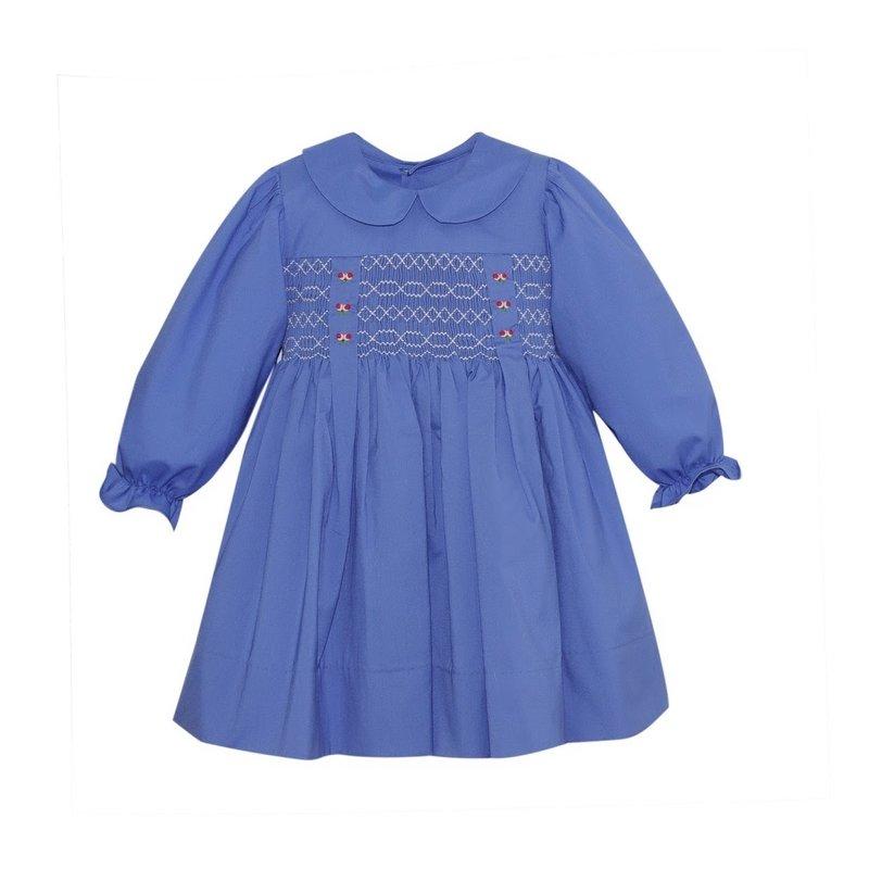 REMEMBER NGUYEN BLUE SNOW DRESS