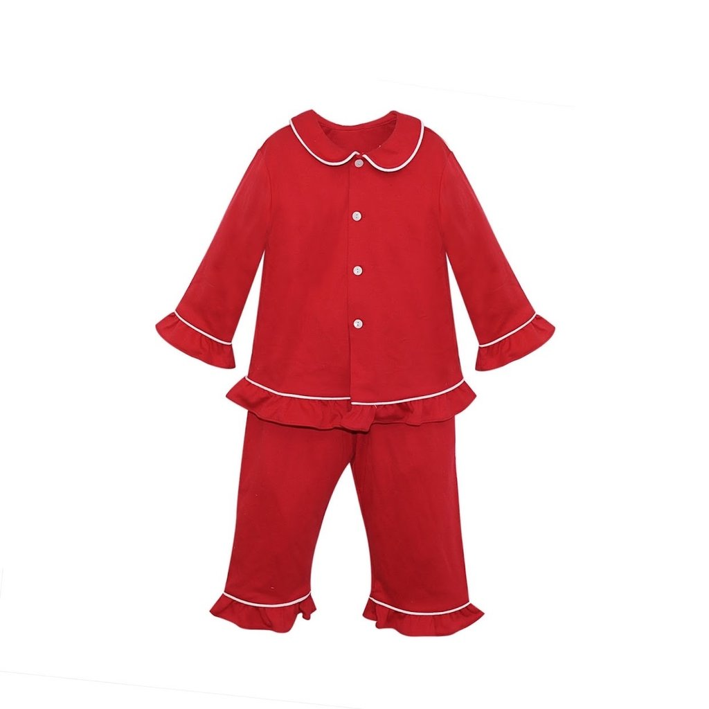 REMEMBER NGUYEN RED GIRL LOUNGEWEAR