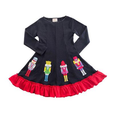 LEMON LOVES LIME SPARKLING NUTCRACKER DRESS