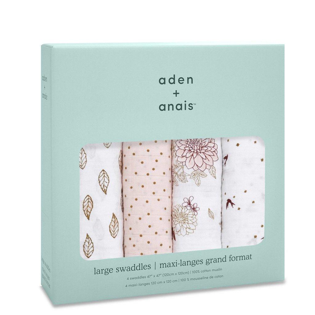 ADEN + ANAIS 4PK CLASSIC SWADDLE