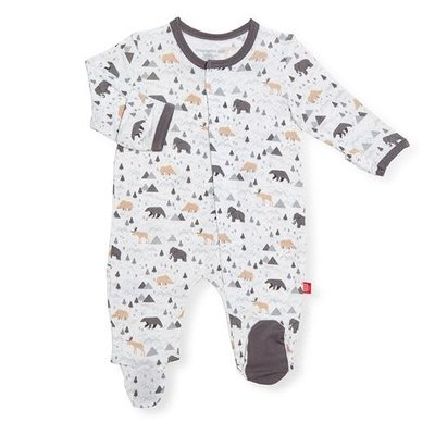 MAGNIFICENT BABY TINY TUNDRA - MODAL MAGNETIC FOOTIE