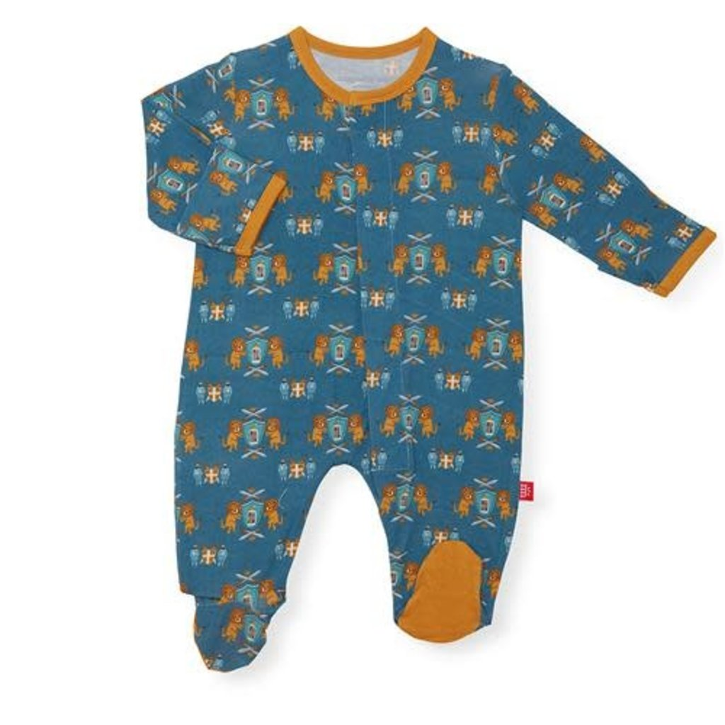 MAGNIFICENT BABY KNIGHTY NIGHT  - MODAL MAGNETIC FOOTIE