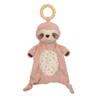 DOUGLAS PINK SLOTH LIL SSHLUMPIE TEETHER