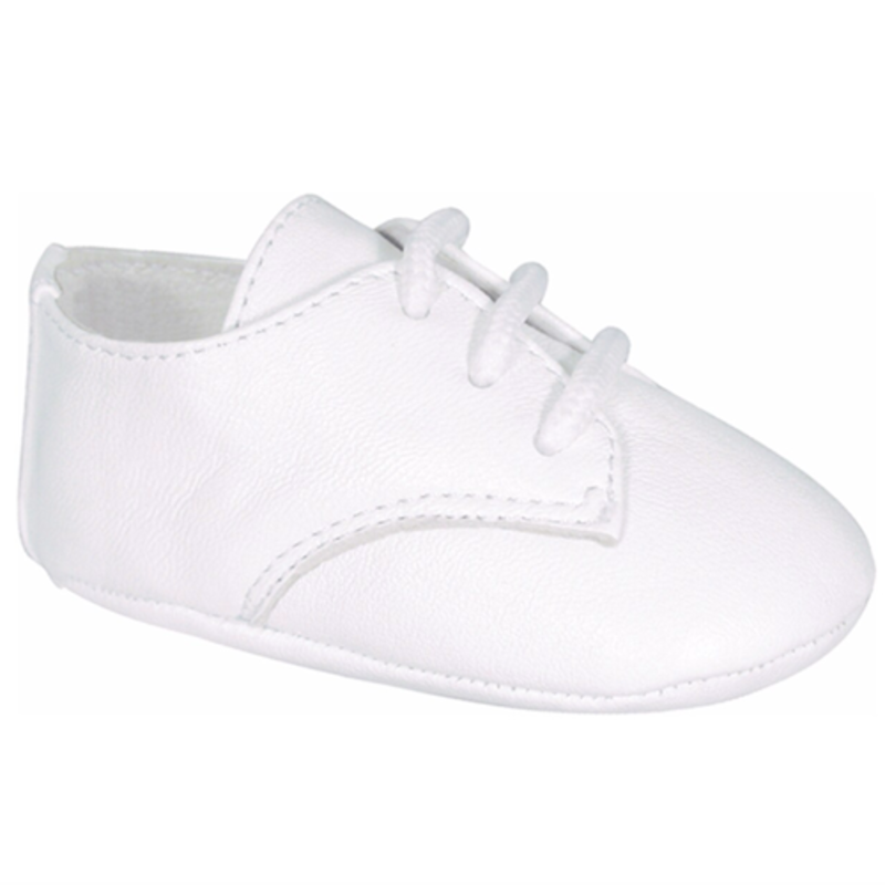 BABY DEER AUSTIN WHITE LAMBSKIN OXFORD