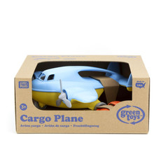 GREEN TOYS CARGO PLANE WITH MINI FASTBACK
