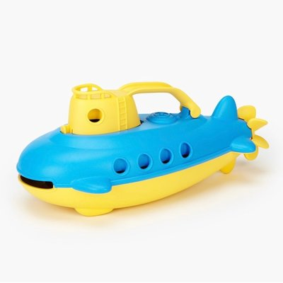 GREEN TOYS SUBMARINE- YELLOW