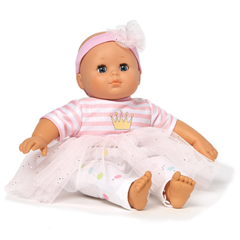 "MADAME ALEXANDER 14"" BABBLE BABY PINK"