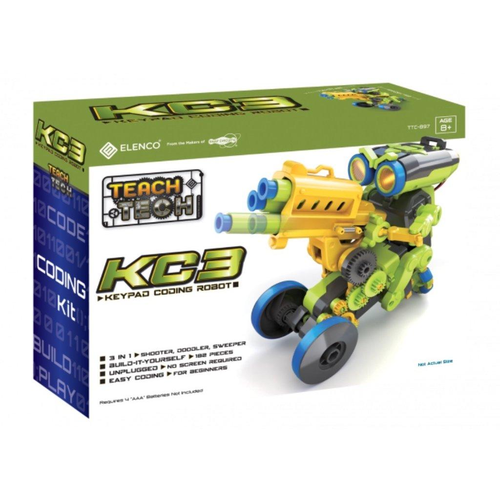 ELENCO KC3 - KEYPAD CODING ROBOT