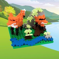 PLUS-PLUS BASEPLATE BUILDER- NATURE