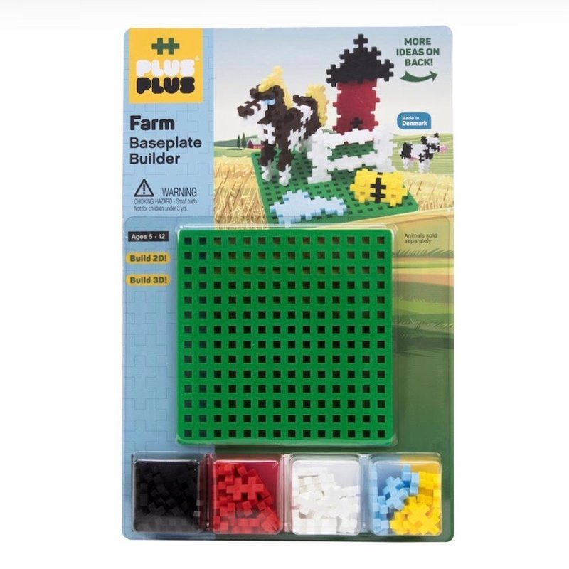 PLUS-PLUS BASEPLATE BUILDER- FARM