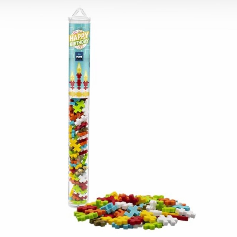 PLUS-PLUS TUBE 70 PC- HAPPY BIRTHDAY