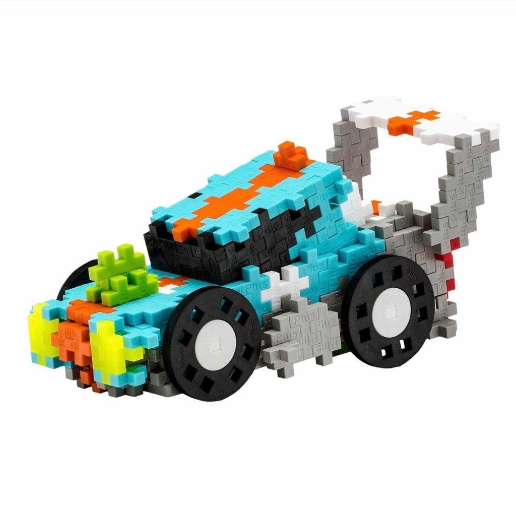 PLUS-PLUS STREET CAR RACING SUPER SET