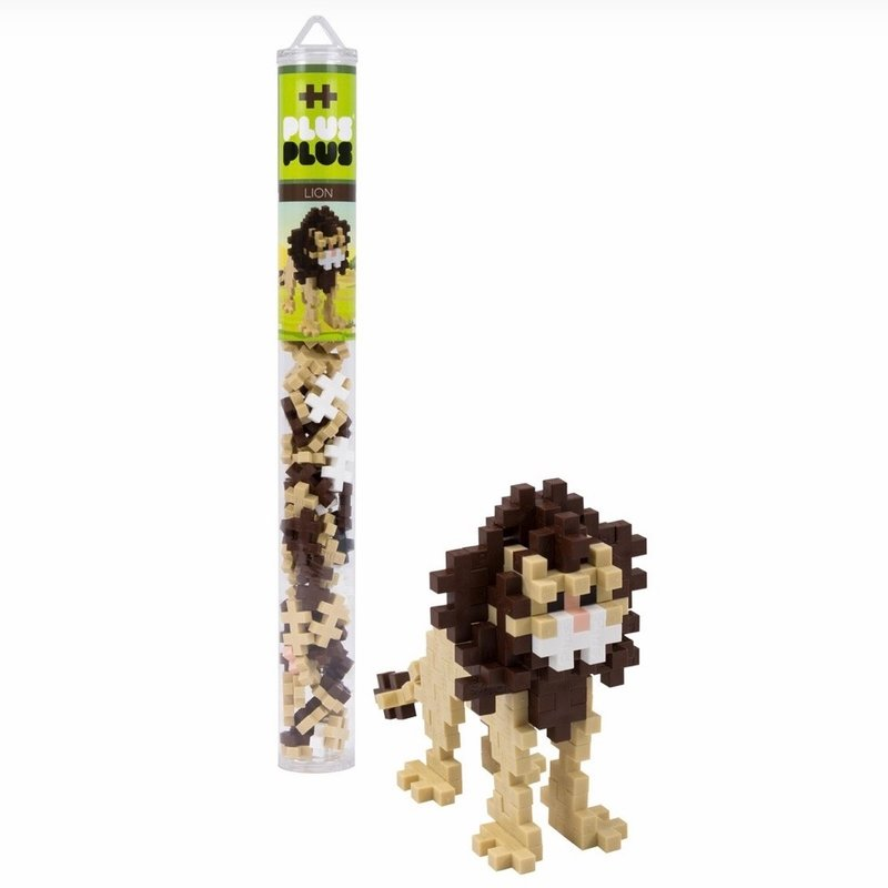 PLUS-PLUS TUBE 70 PC- LION