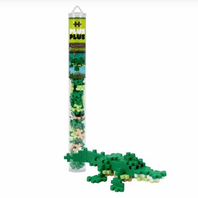 PLUS-PLUS TUBE 70 PC- ALLIGATOR