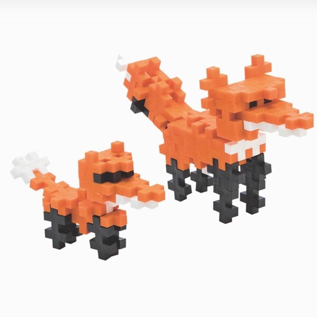 PLUS-PLUS TUBE 70 PC- RED FOX