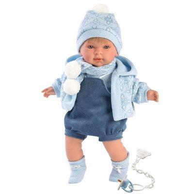 "LLORENS DOLLS BENJAMIN 16.5"" SOFT BODY CRYING BABY DOLL"