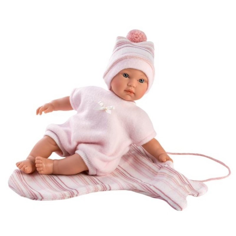"LLORENS DOLLS EMMA 11"" SOFT BODY CRYING BABY DOLL"