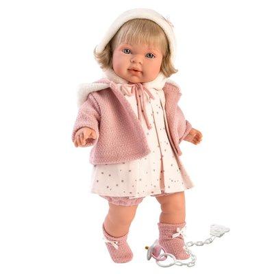 "LLORENS DOLLS BRIANNA 16.5"" SOFT BODY CRYING BABY"