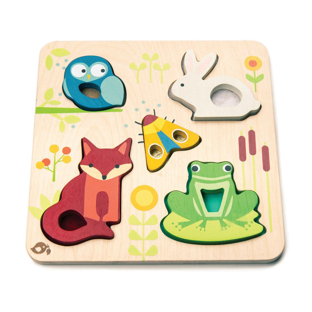 TENDER LEAF TOYS TOUCH FEELY ANIMALS