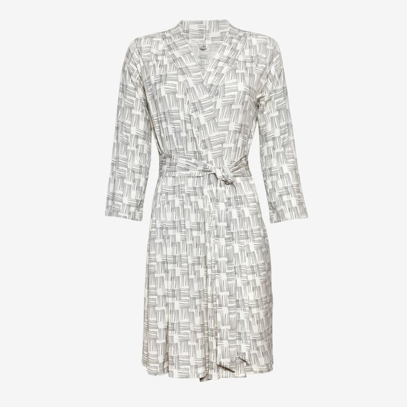 POSH PEANUT RIVERS GRAY - MOMMY ROBE