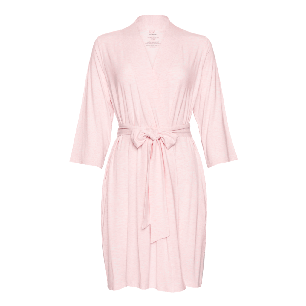 POSH PEANUT PINK HEATHER - MOMMY ROBE