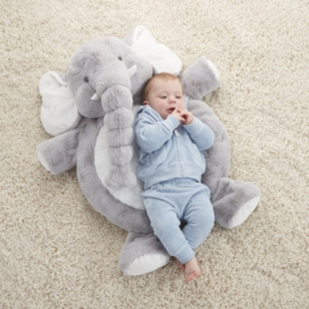 "Ganz 32"" JELLY BEAN ELEPHANT PLAY MAT"