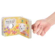 Ganz BLOSSOM UNICORN FINGER PUPPET BOOK