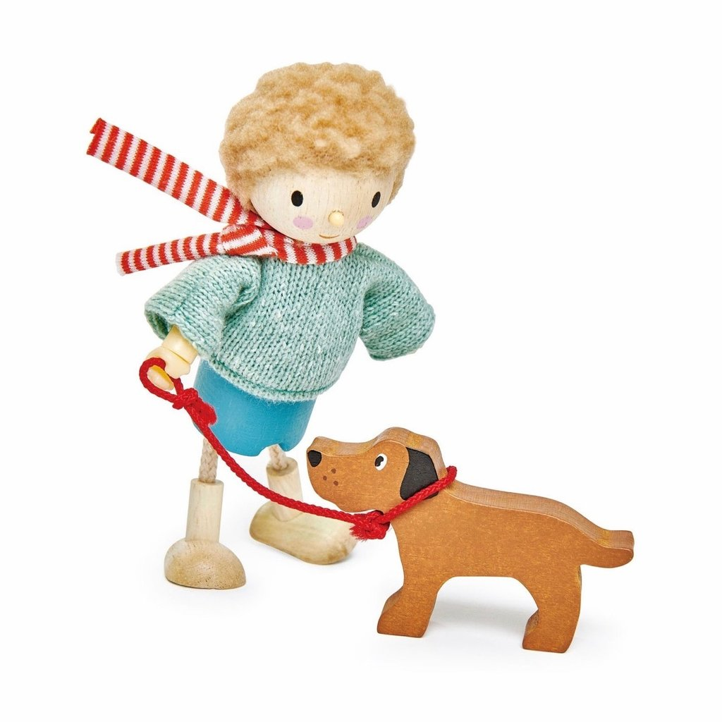 TENDER LEAF TOYS MR. GOODWOOD AND HIS DOG