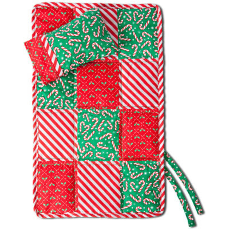 ELF MAGIC COZY CLAUS- QUILT AND PILLOW SET