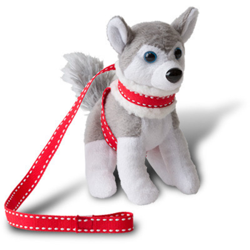 ELF MAGIC POLAR PETS- HO HO HUSKY AND SLEIGH