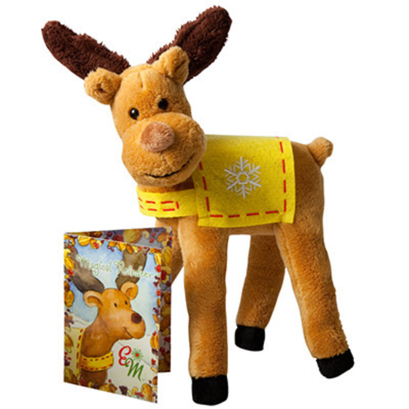 ELF MAGIC POLAR PETS- MAGICAL REINDEER AND HALTER SET
