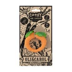 OLI & CAROL CHEWABLE TEETHER BRACELET- CATHY THE CARROT