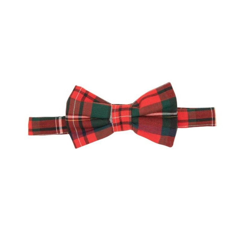 THE BEAUFORT BONNET COMPANY BAYLOR BOW TIE- FLANNEL